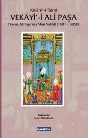 Vekayi-i Ali Paşa (Yavuz Ali Paşa'nın Mısır Valiliği 1601 - 1603)