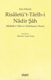 Risâletü't-Tarih-i Nâdir Şah