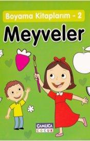Boyama Kitaplarım-2 Meyveler (4 Yaş)