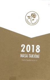 2018 MASA TAKVİMİ (10x14 cm)