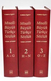 MİSALLİ BÜYÜK TÜRKÇE SÖZLÜK (3 Cilt)