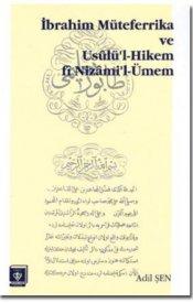 İbrahim Müteferrika ve Usûlü'l Hikem fi Nizam'i-Ümem