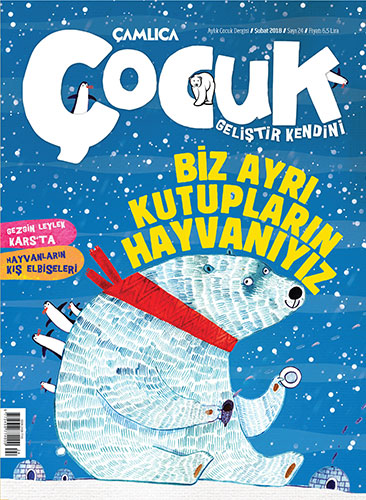 Çamlıca Çocuk Dergisi 24. Sayı (Şubat 2018)